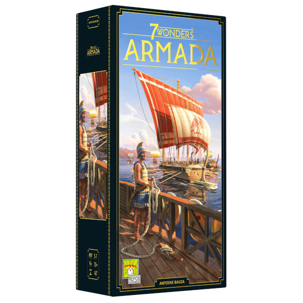 7 Wonders Armada New Edition board game front cover.