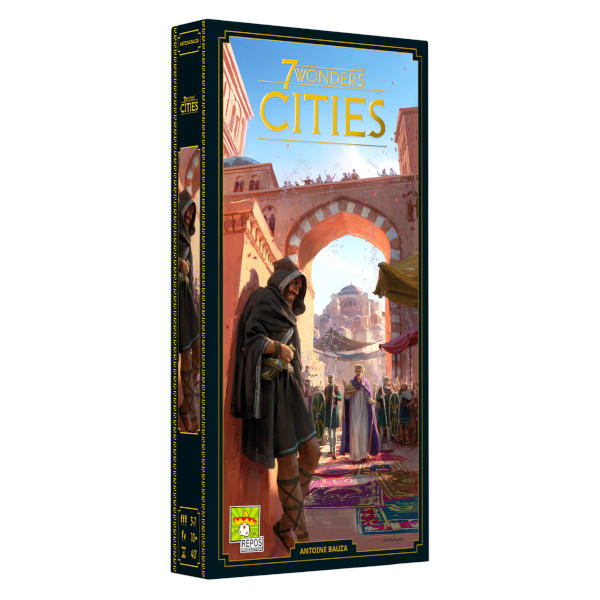 7 Wonders Cities New Edition board game front cover.