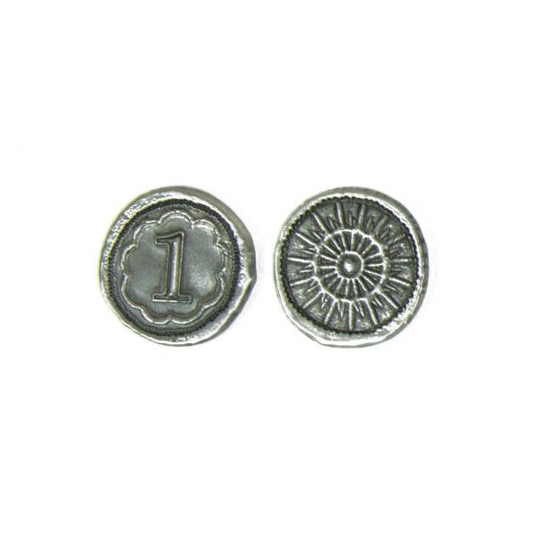 7 Wonders Metal Coins - Broken Token Wondrous coin set 1 piece..
