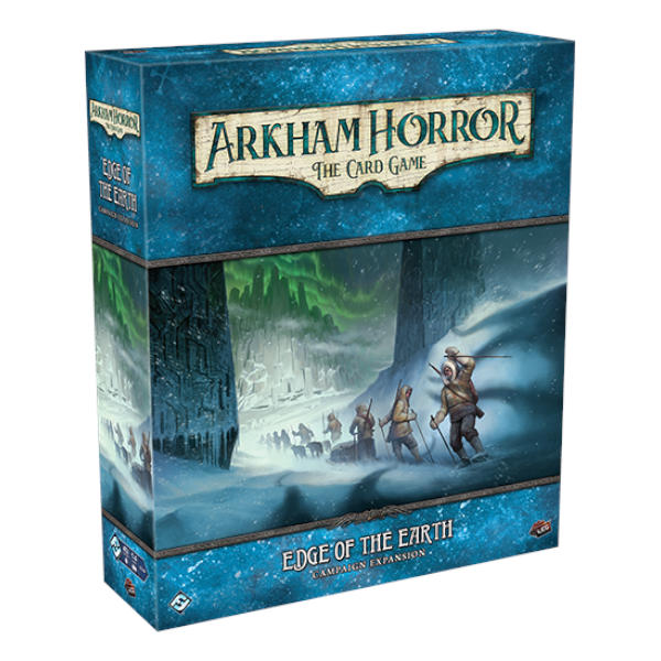 Arkham Horror LCG Edge of the Earth Campaign Expansion box cover.
