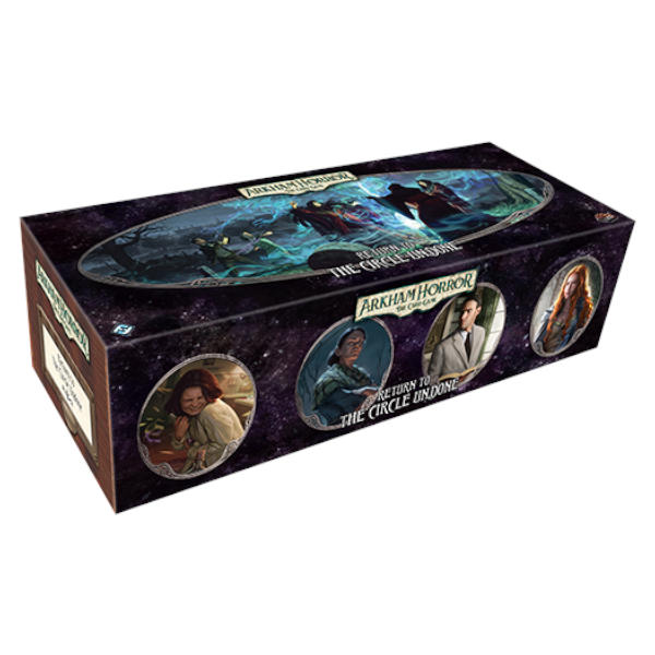 Arkham Horror Return to the Circle Undone Expansion front of box.