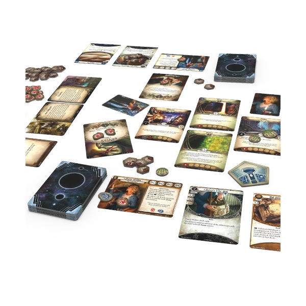 Arkham Horror Revised Core Set cards and gameplay.