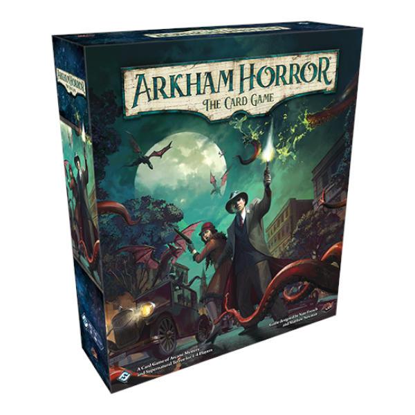 Arkham Horror Revised Core Set front of box.