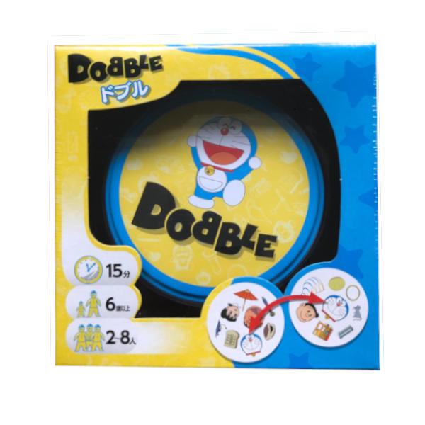 Doraemon Dobble Card Game cover.