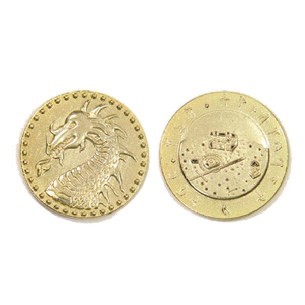 Dragons Themed Gaming Coins Jumbo 35mm (Broken Token) front and back.