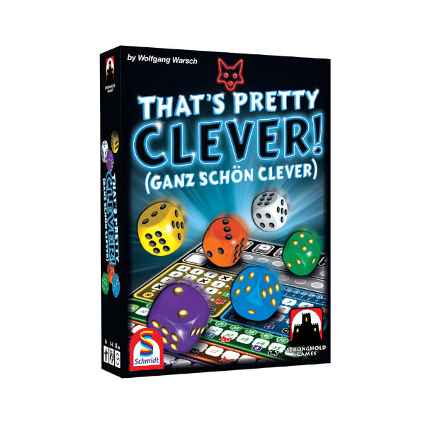 Ganz Schon Clever Board Game front cover.