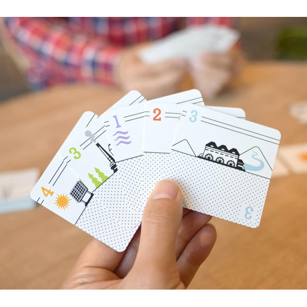 Hatsuden Card Game components.