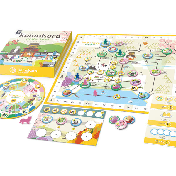 Kamakura Collection Board game box and components.