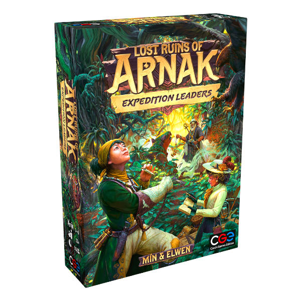 Lost Ruins of Arnak Expedition Leaders Expansion box cover.