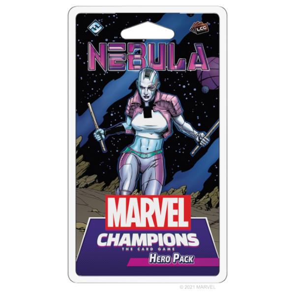 Marvel Champions Nebula Hero Pack front cover.