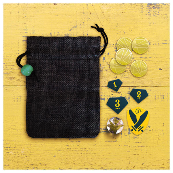 Moneybags Board Game components.