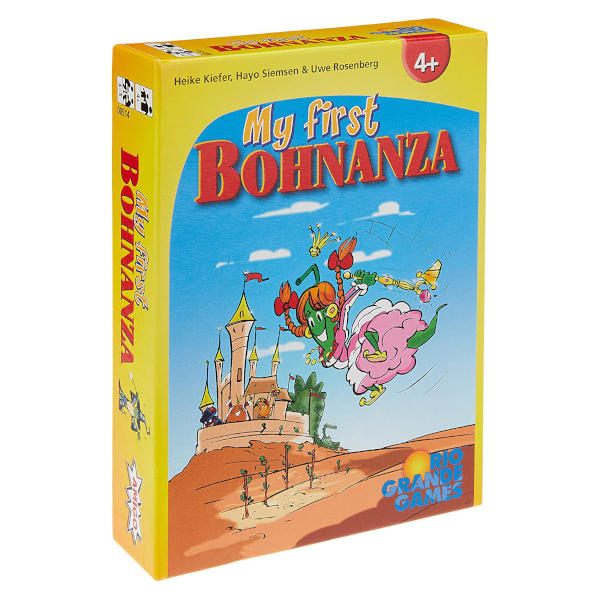 My First Bohnanza Board Game front cover.