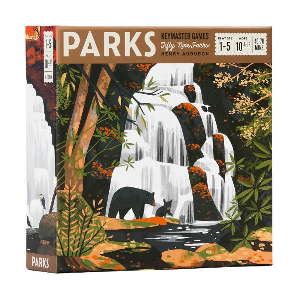 Parks Board Game box cover.