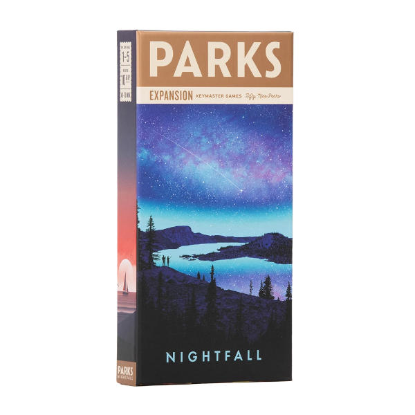 PARKS Nightfall Expansion box cover.