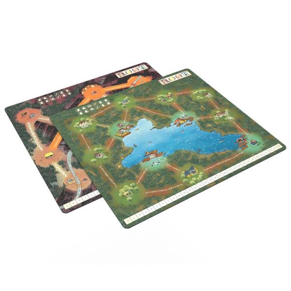 Root Playmat Mountain Lake image.