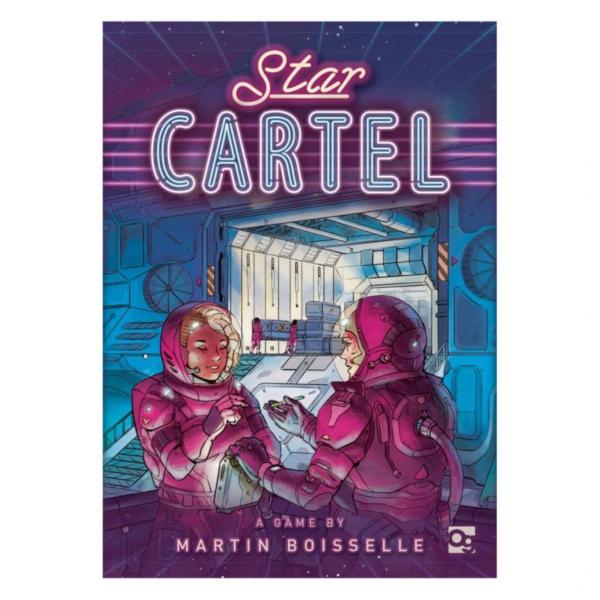 Star Cartel Board Game box cover.