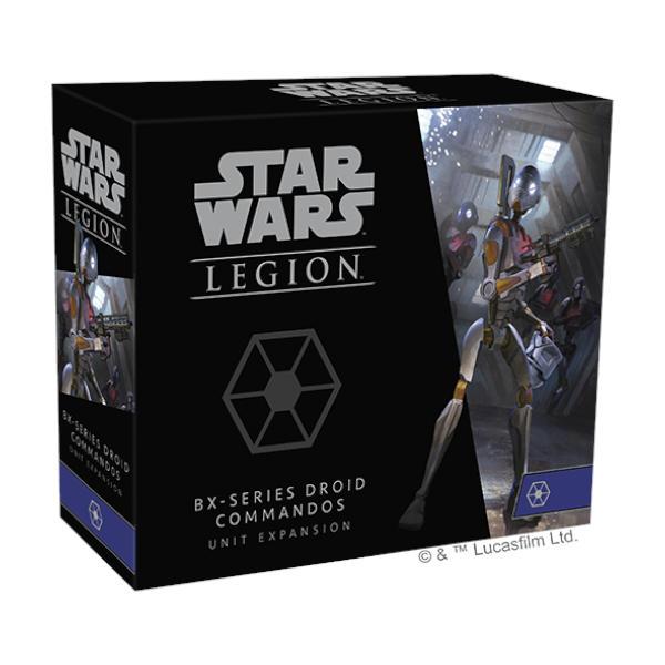 Star Wars Legion BX Series Droid Commandos Unit Expansion box cover.