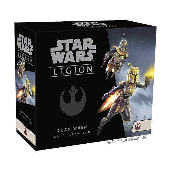 Star Wars Legion Clan Wren Unit Expansion box cover.