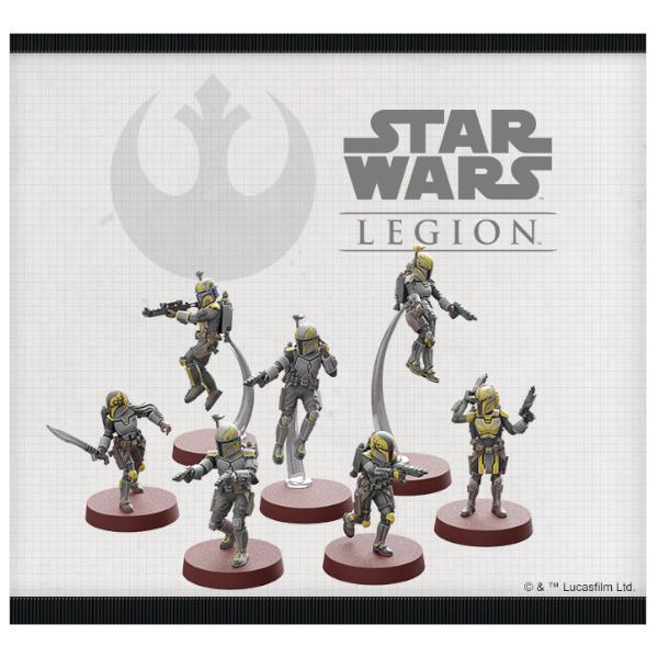 Star Wars Legion Clan Wren Unit Expansion miniature sculpts.