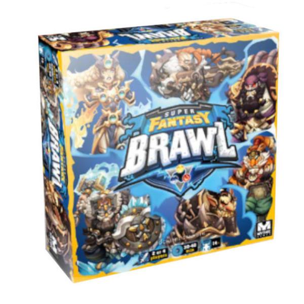 Super Fantasy Brawl Board Game Core Set cover.