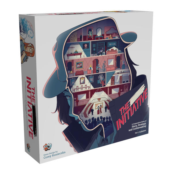 The Initiative Board Game box cover.