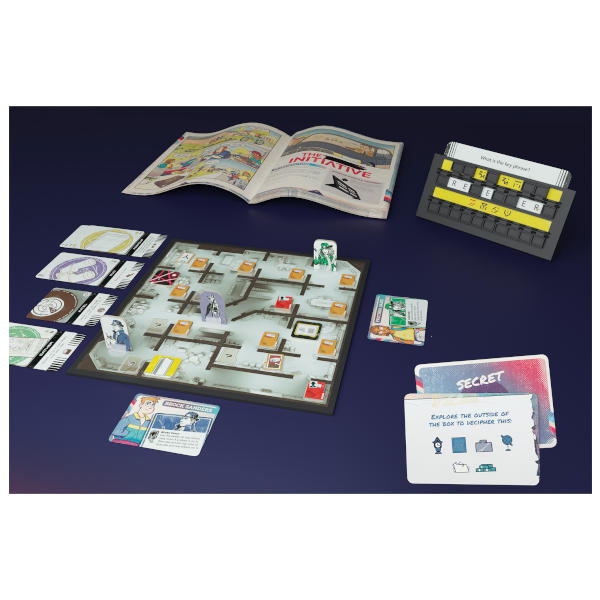 The Initiative Board Game components.