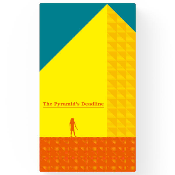 The Pyramids Deadline Board game front cover.