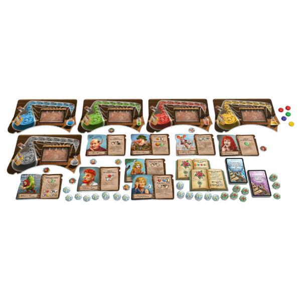 The Quacks of Quedlinburg Alchemists Expansion components.