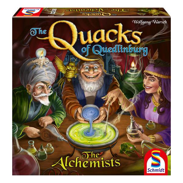The Quacks of Quedlinburg Alchemists Expansion box cover.