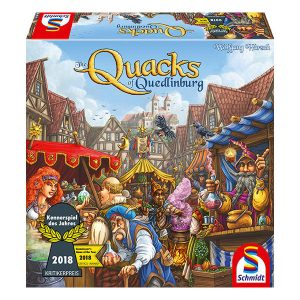 The Quacks of Quedlinburg Board Game front cover.