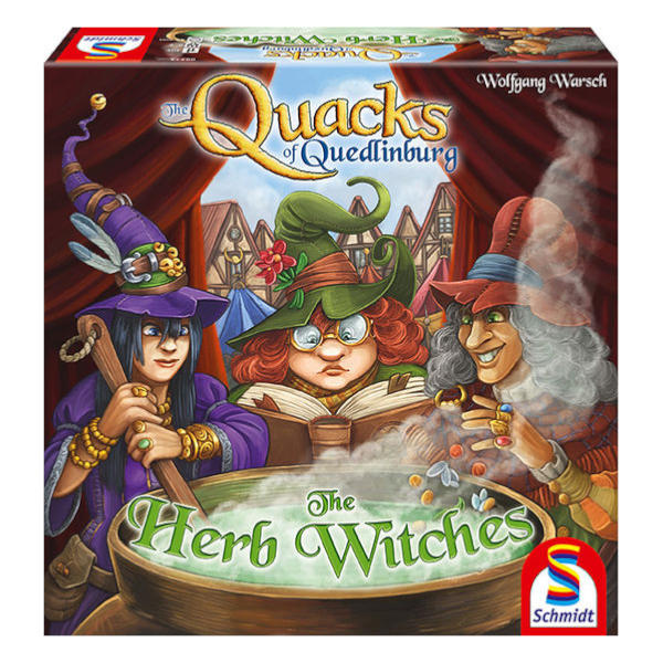 The Quacks of Quedlinburg Herb Witches Expansion box cover.