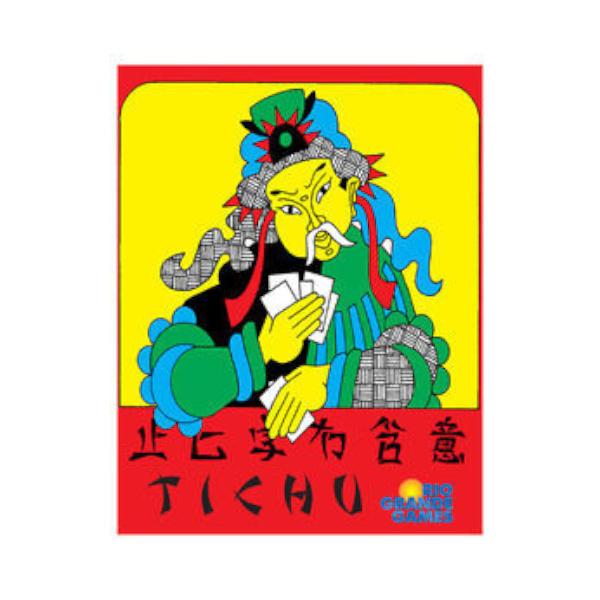 Tichu Card Game box cover.