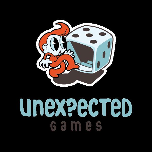 Unexpected Games Logo.