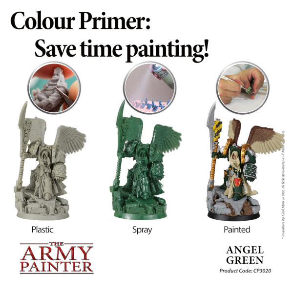 Army Painter Angel Green Colour Primer