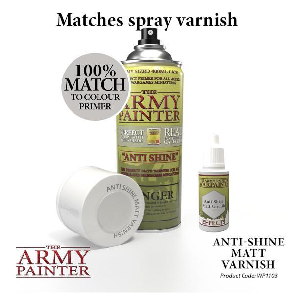 Army Painter Anti Shine Matt Varnish Warpaint