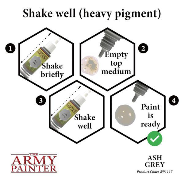 Army Painter Ash Grey Warpaint