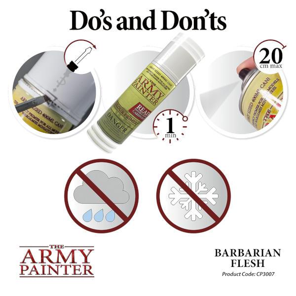 Army Painter Barbarian Flesh Colour Primer