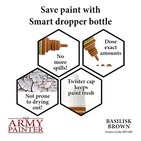 Army Painter Basilisk Brown Warpaint