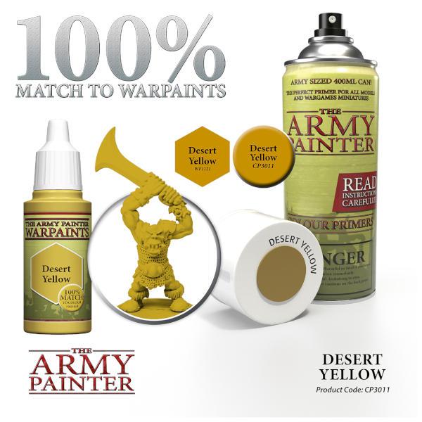 Army Painter Desert Yellow Colour Primer