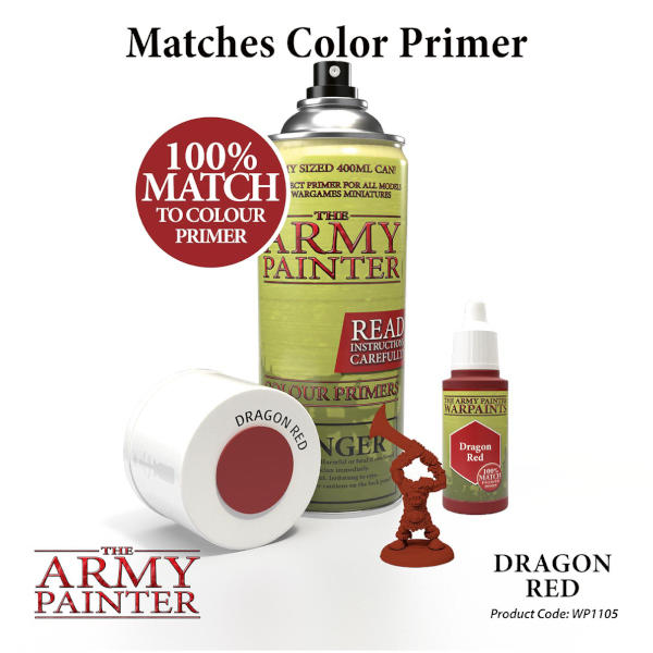 Army Painter Dragon Red Warpaint