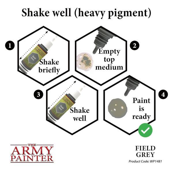 Army Painter Field Grey Warpaint.