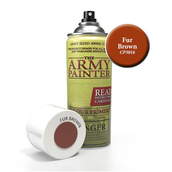 Army Painter Fur Brown Colour Primer