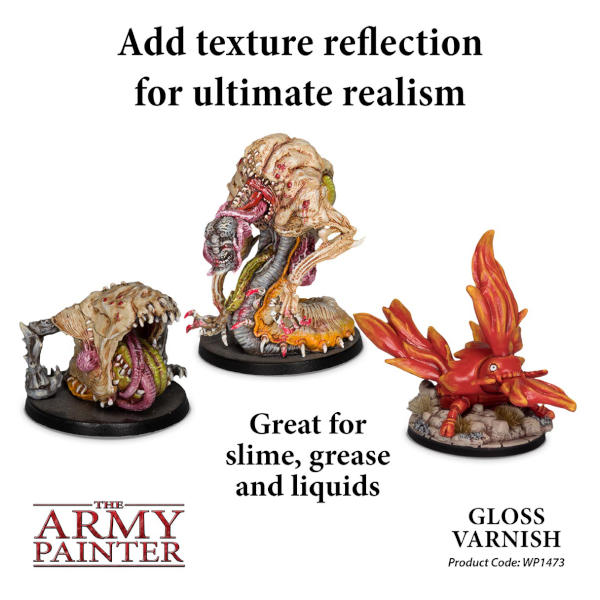 Army Painter Gloss Varnish Effects Warpaint