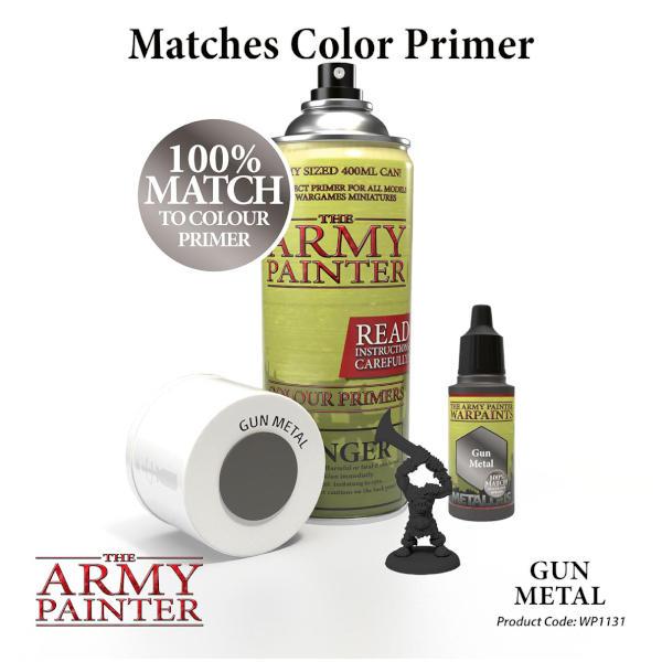 Army Painter Gun Metal Warpaint (Metallic)