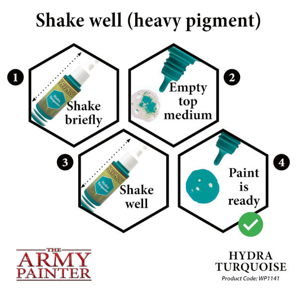 Army Painter Hydra Turquoise Warpaint