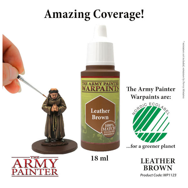 Army Painter Leather Brown Warpaint
