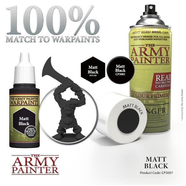 Army Painter Matt Black Primer.