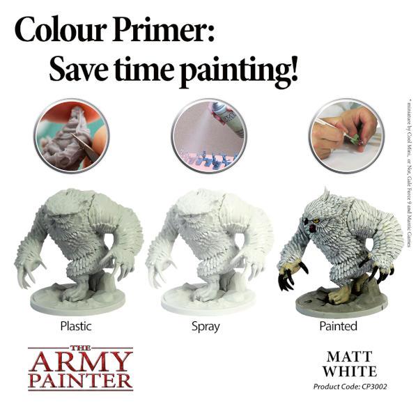Army Painter Matt White Primer.