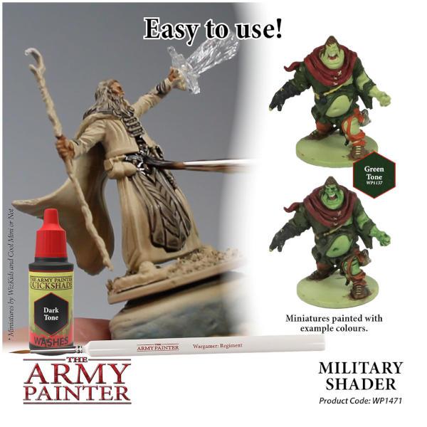 Army Painter Military Shader Quickshade Wash