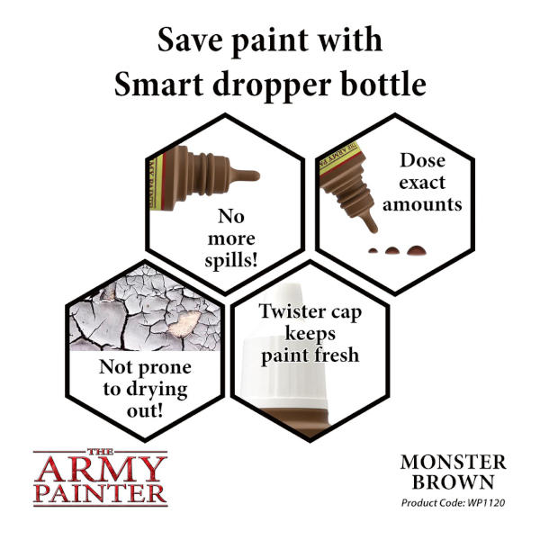 Army Painter Monster Brown Warpaint